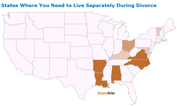 live-separate-during-divorce-usa-map