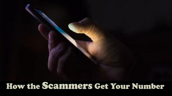 How the Scammers Get Your Number | The Registry Report